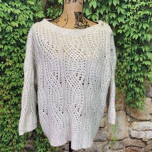 ANN TAYLOR Chunky Knit Sweater, M